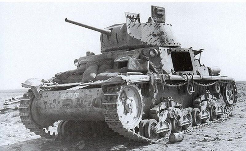 淘汰/被遗弃的M13/40