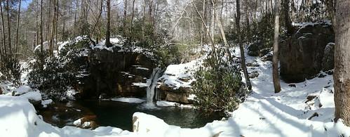 chfstew tennessee tncartercounty landscape panorama waterfall