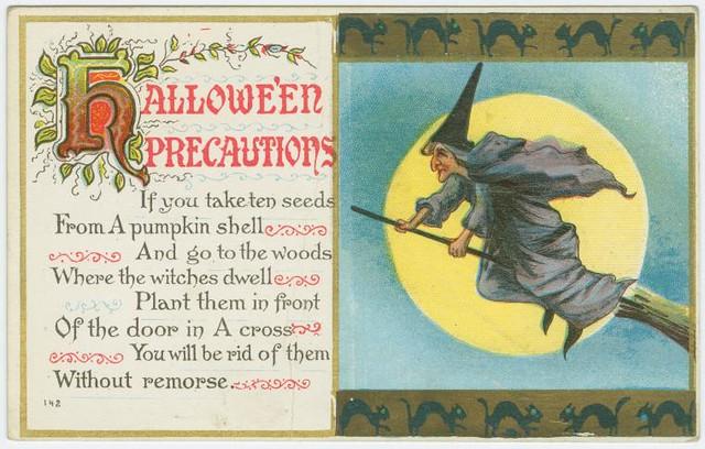 Hallowe'en precautions.