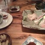 near Tonoshiro 後夜祭なう。石垣の魚は美味い! - from Brightkite