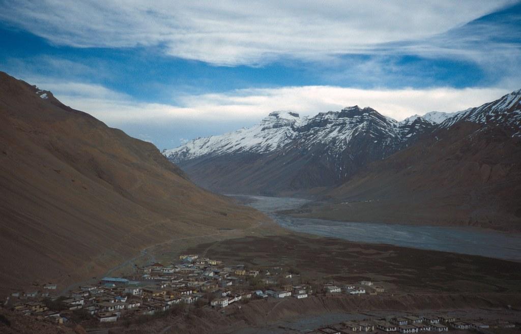 Mesmerizing Spiti Valley. Courtesy: Flickr