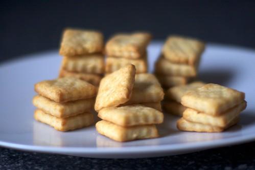 parmesan crackers | by smitten kitchen