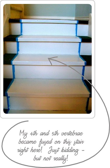 Stair progress #6
