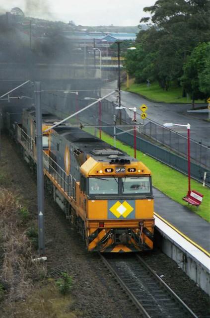 NR70/NR on Dn steel Port Kembla North by Sten Parker
