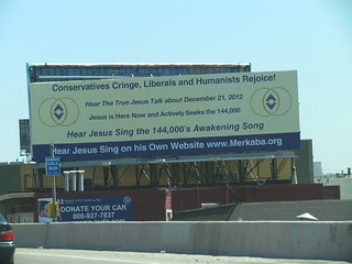 Billboard Which Challenges Family Radio Right Near Their Headquarters in Oakland, CA about May 21, 2011.