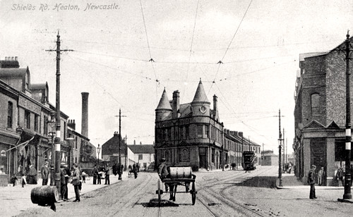 047221: Shields Road, Heaton 1908 | by Newcastle Libraries