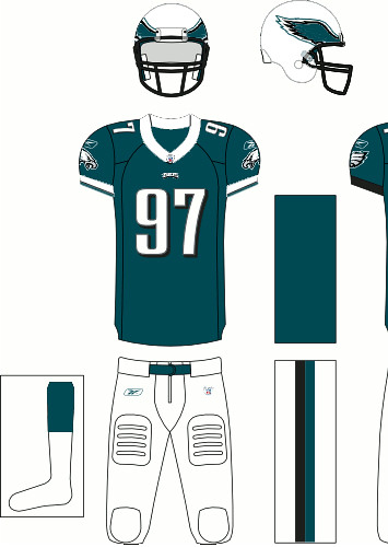 new style d22fb 80329 Philadelphia Eagles (White Helmets) | Jared Ongie | Flickr