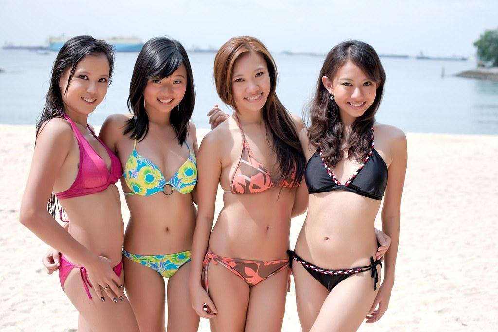 Filipina amateur group public nudity