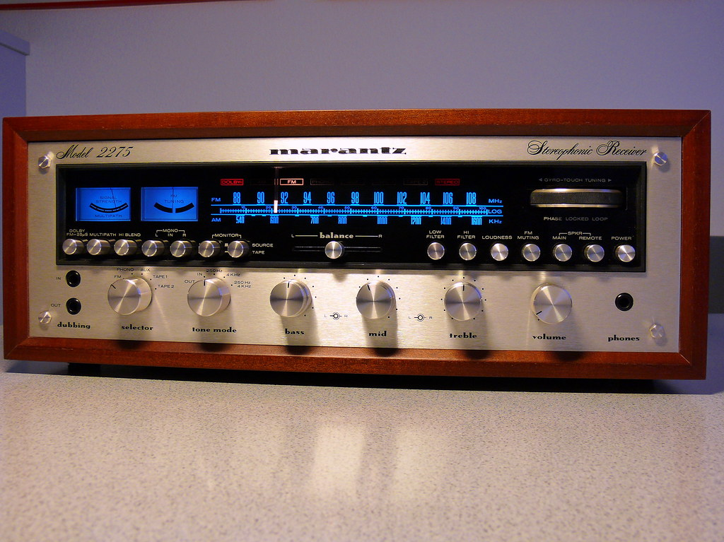 Marantz 2275 Stereo Receiver | 1974 - 1976 A mighty vintage