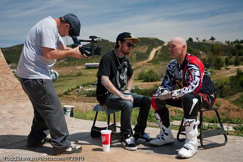 Beau interviewing Mike Metzger