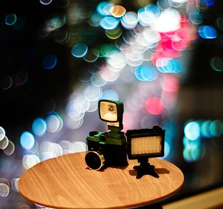 Diana F+ with LitePanel Micro | by rogvon
