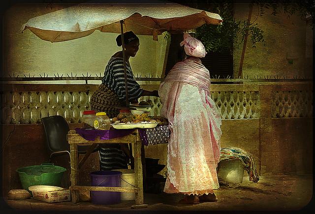 senegalese greengrocer... by lilion (Beatrix Jourdan)