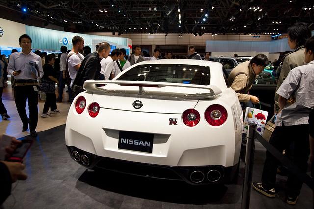 Tokyo Motor Show 2009  NISSAN GTR