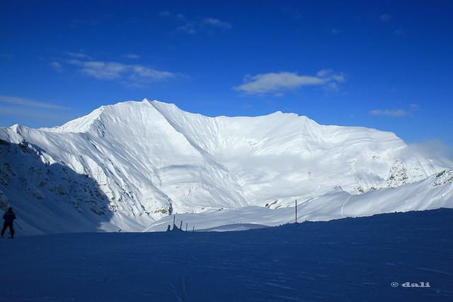 Hintertuxer Gletscher - view from Tuxer Joch