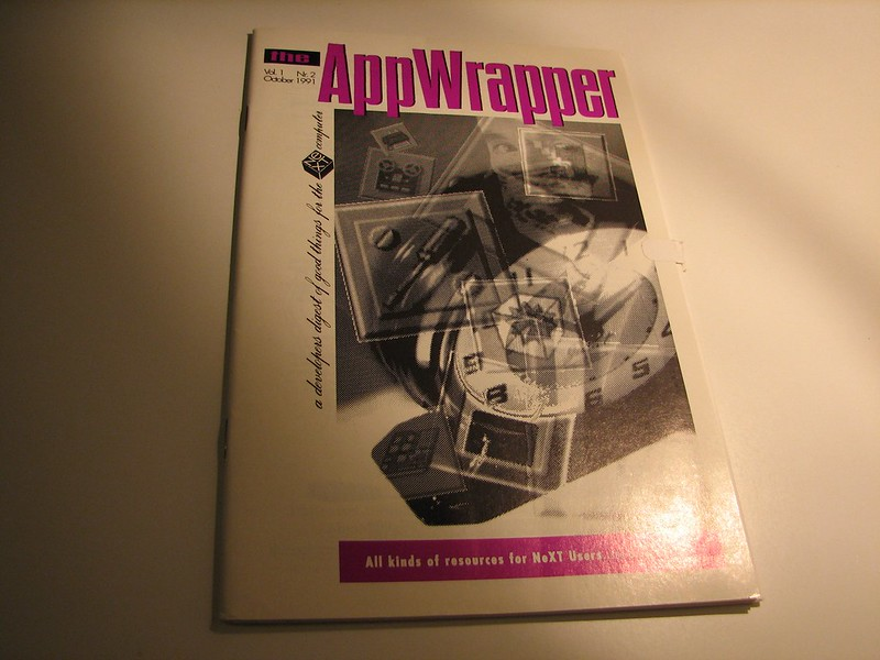App Wrapper magazine Vol. 1, No. 2. October 1991