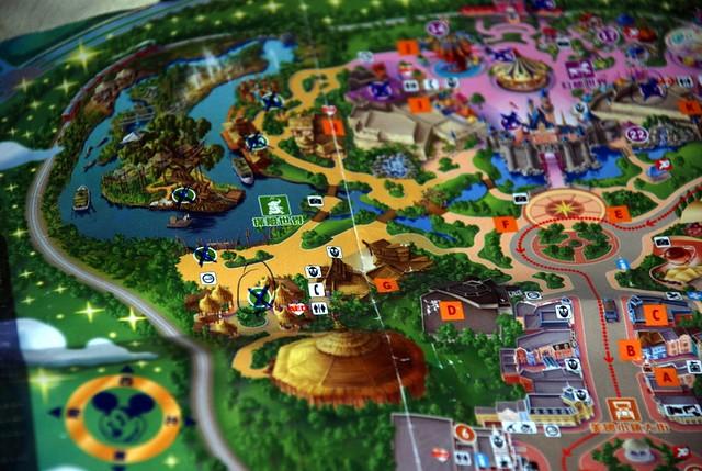 Hong Kong Disneyland Map My Girlfriend Marked A Cross On E Flickr