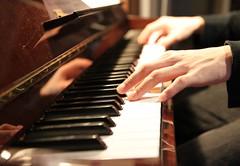 Playing piano | by nayukim