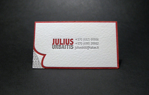 Personal business card | by ElegantePress