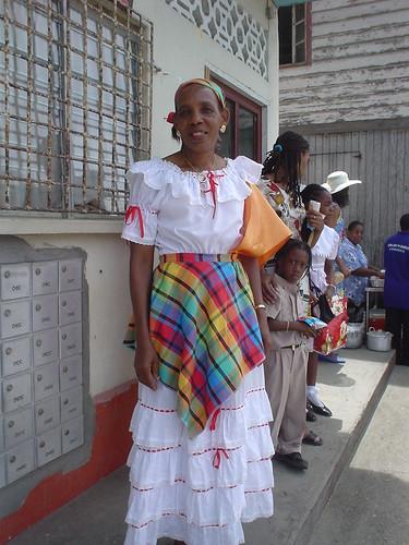 Kweyol Dress, St. Lucia