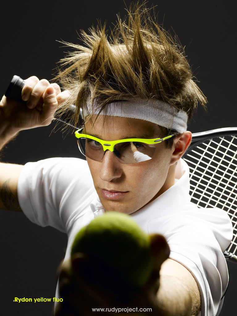 d9589c06906 ... Tennis Sunglasses  Raydon Yellow Fluo