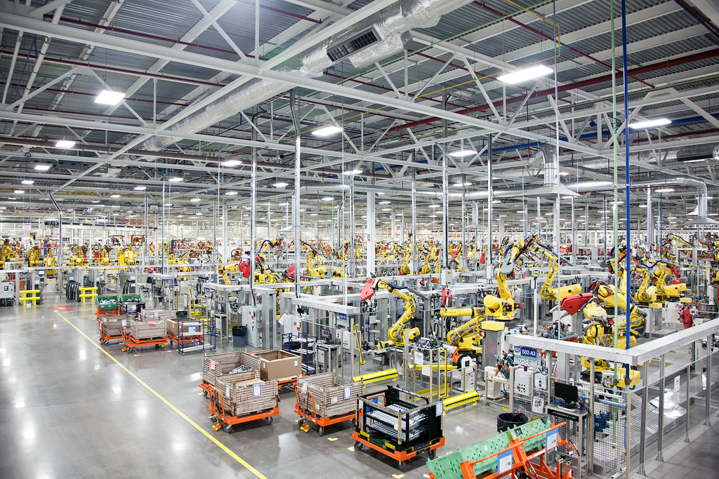 Sterling Heights Chrysler >> Sterling Heights Assembly Plant More Than 1 100 Robots Hav Flickr
