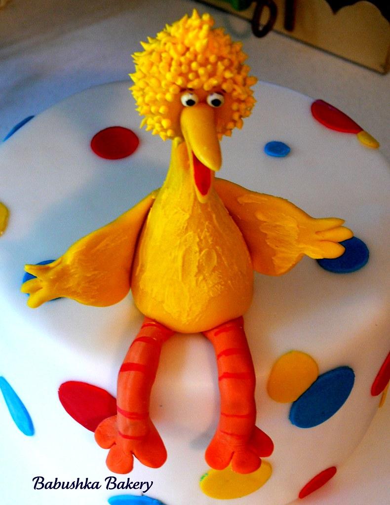 Big Bird Sugar Sculpture