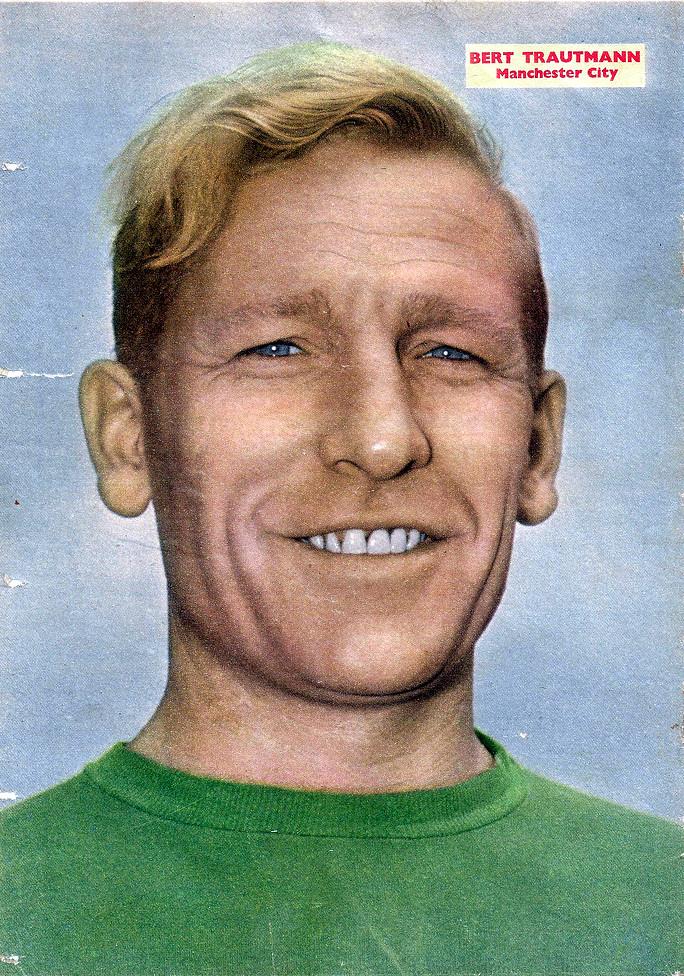 Bert Trautmann Manchester City Famous Goalkeeper Who Was A Flickr