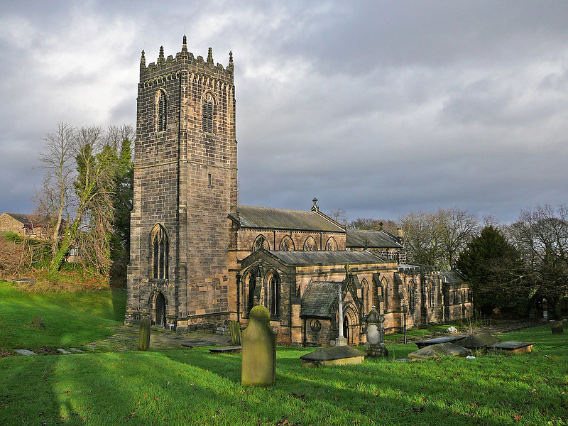 St Michael and All Angels, Thornhill 1