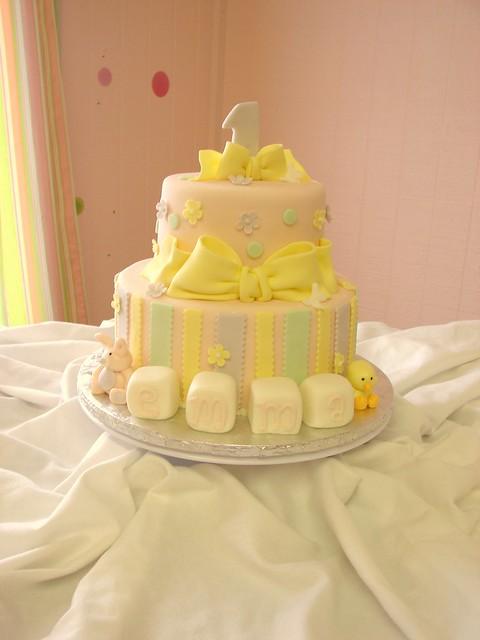 Emma's First Birthday Cake