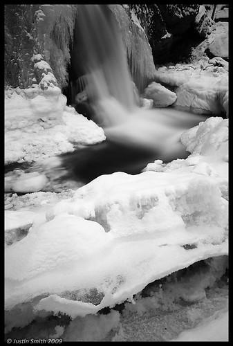 winter ice waterfall nikond50 justinsmith trapfalls willardbrookstateforest nikon1735mmf28