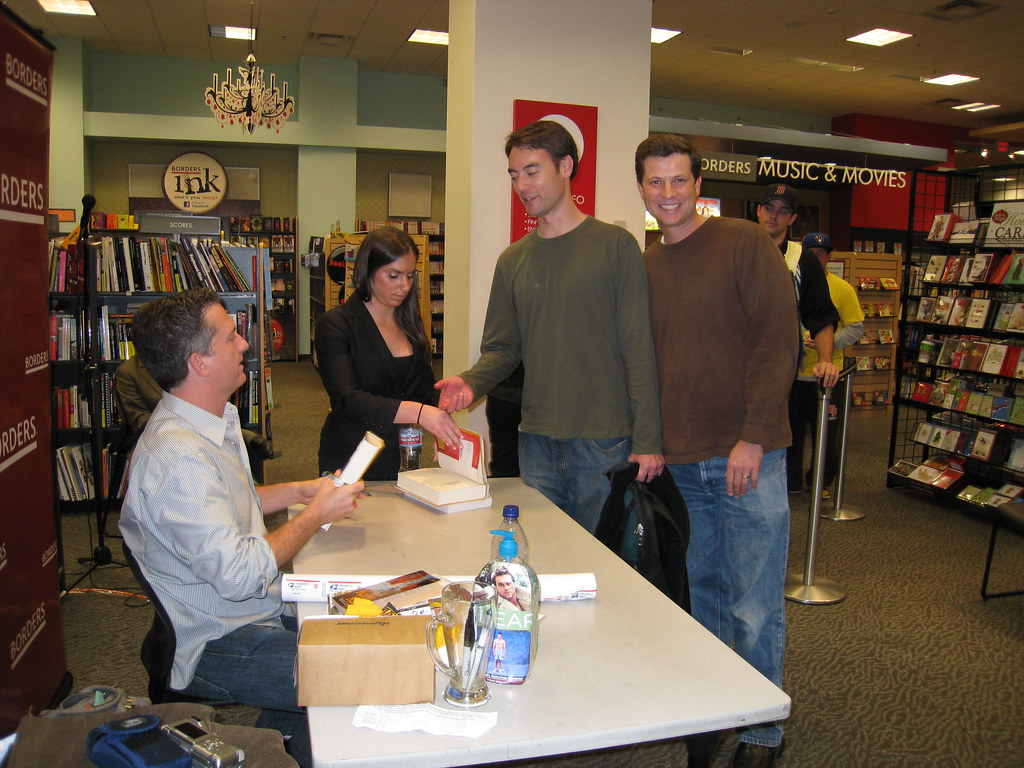 Bill Simmons (The Sports Guy) book signing in SF
