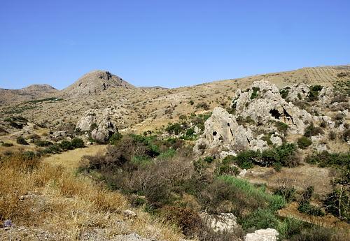 Makrigialos - Umland - karge Landschaft