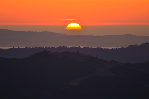 Sunset from Mount Diablo | by Images by John 'K'