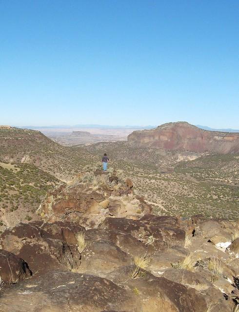 Scenic Viewpoint near Los Alamos