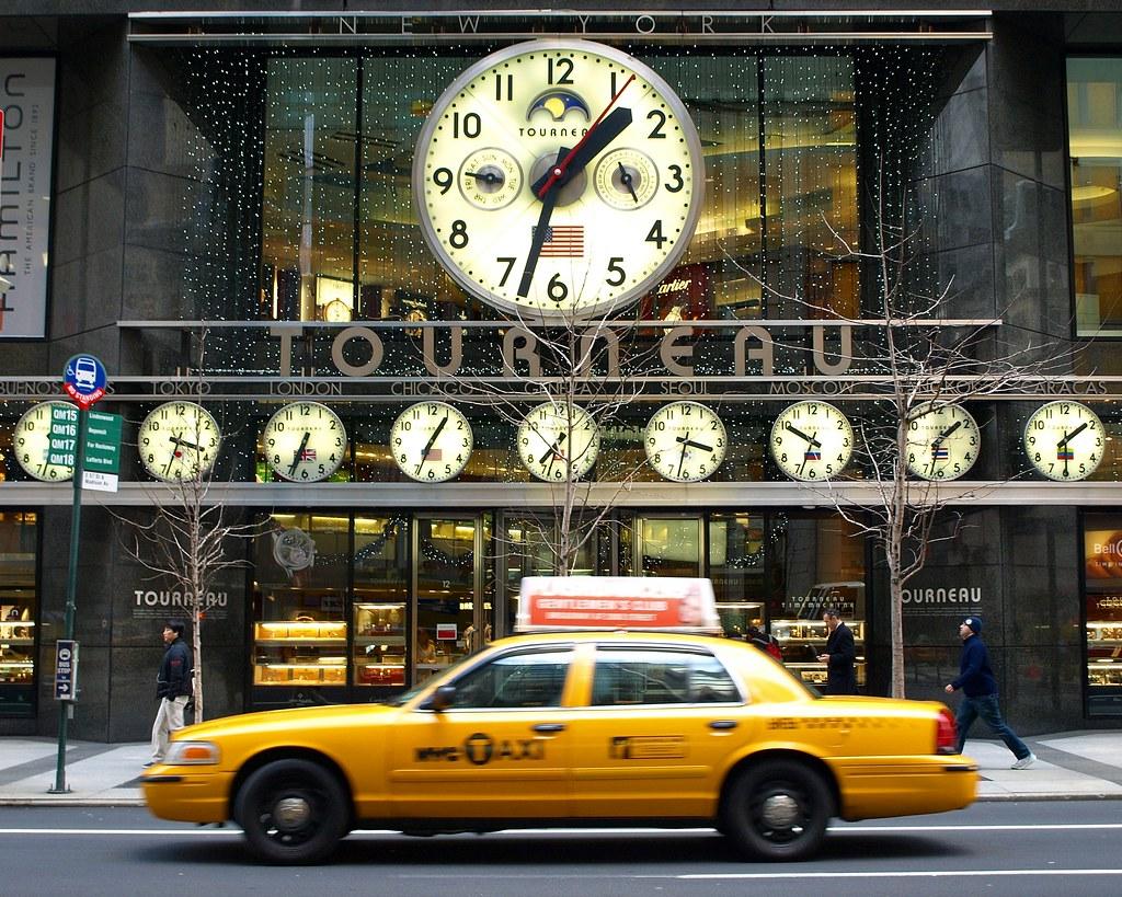Tourneau TimeMachine, New York City | 12 East 57 Street, Man