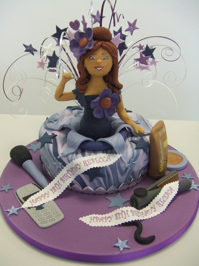 Superb Cool Birthday Girl This Was A Cake Made For A Customer Who Flickr Personalised Birthday Cards Paralily Jamesorg