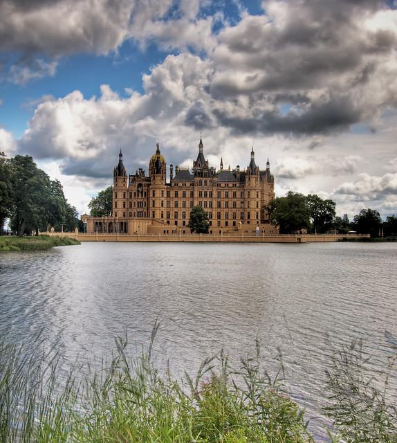Castle in Schwerin/Germany