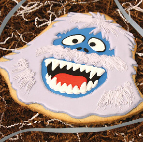 Giant Abominable Snowman Cookie Giant Abominable Snowman C Flickr