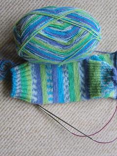 Sock Yarn Happiness Socks