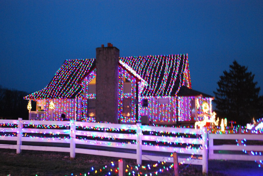Christmas Ranch Morrow Ohio.The Main House Of The Christmas Ranch In Morrow Ohio Flickr