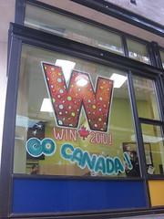 Woodwards Building - Go Canada!