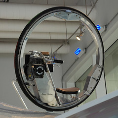 Kerry McLean monowheel, Discovery World, Milwaukee | by ihynz7