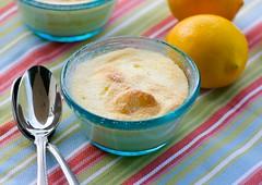 Martha Stewart's Lemon Custard Cakes   by Food Blogga