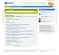 cussit.com Beta-Preview | by philipp.zentner