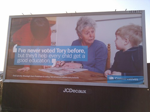 Tory Poster | by artesea