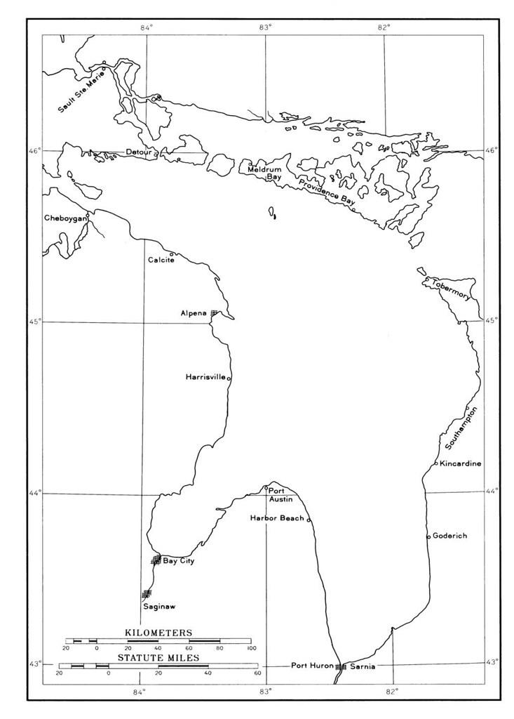 map of lake huron shoreline Shoreline Map Of Lake Huron Lake Huron Shoreline Flickr map of lake huron shoreline