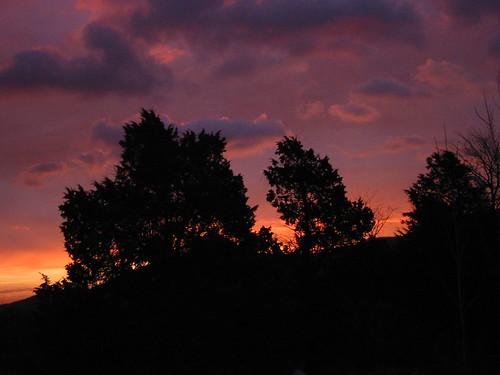 sunrise blueridgemountains