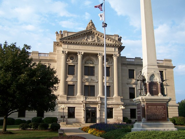 DeKalb County Court House - Sycamore, IL.