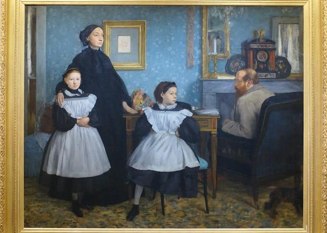 Edgar Degas, Die Familie Bellelli (The Belleli Family