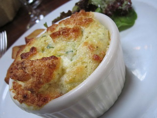 Goat Cheese Souffle 3   by Shaw Girl